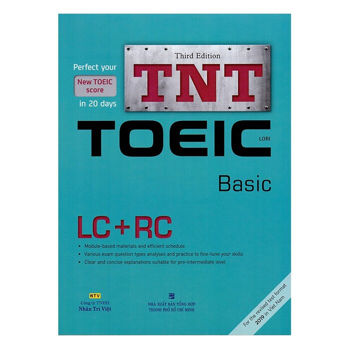 TNT TOEIC - Basic (Third Edition) (Kèm 1 Đĩa MP3)