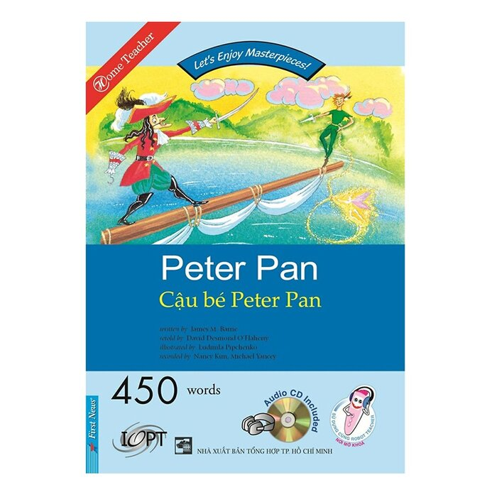 Happy Reader - Cậu Bé Peter Pan (Kèm 1 CD)