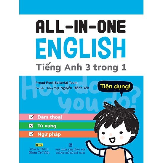 All in One English - Tiếng Anh 3 trong 1
