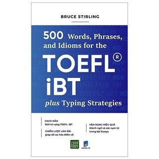 500 Words, Phrases, Idioms Forr The Toefl Ibt Plustyping Strategies