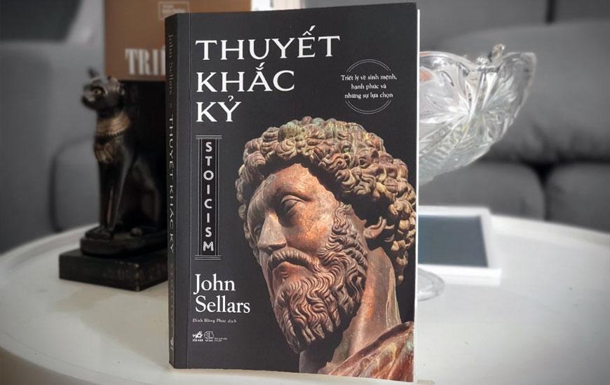 """Sách """"Thuyết Khắc Kỷ"""" của tác giả John Sellars"""